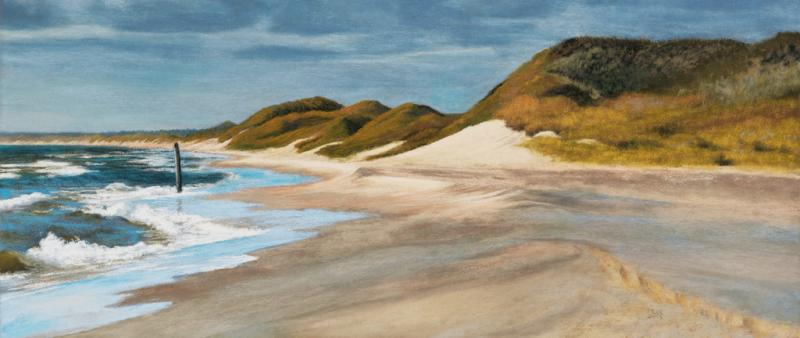 Modern Pastel on the island landscapes of North Frisia