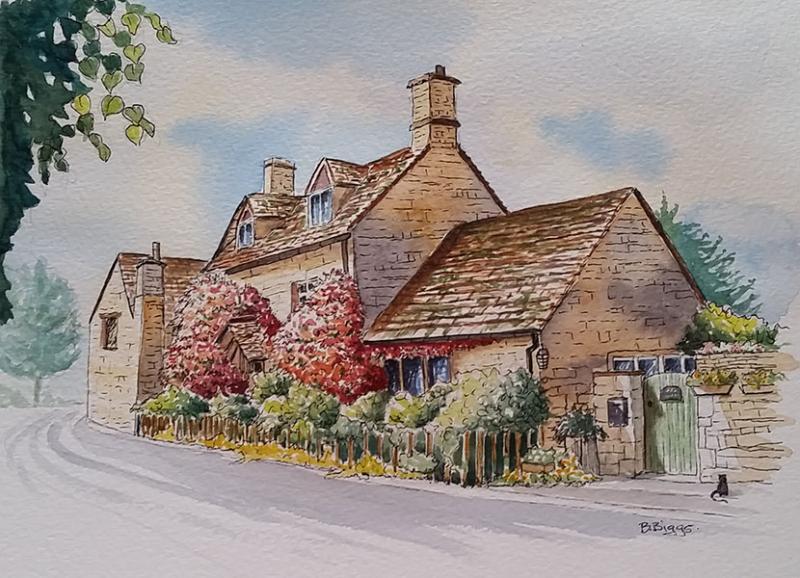 Paint Beautiful Cotswolds Villages