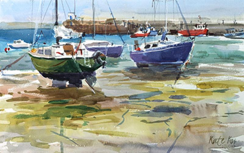 Paint Chichester Harbour Scenes & nearby Countryside in Watercolour