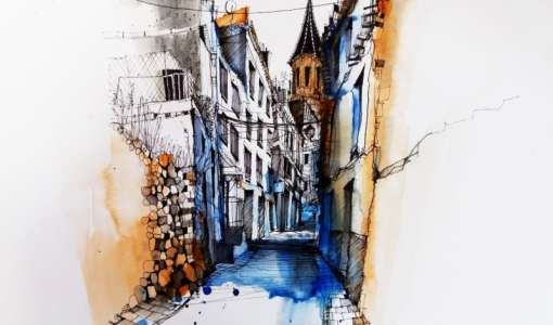 Sketch with Ian Fennelly in Bamberg!