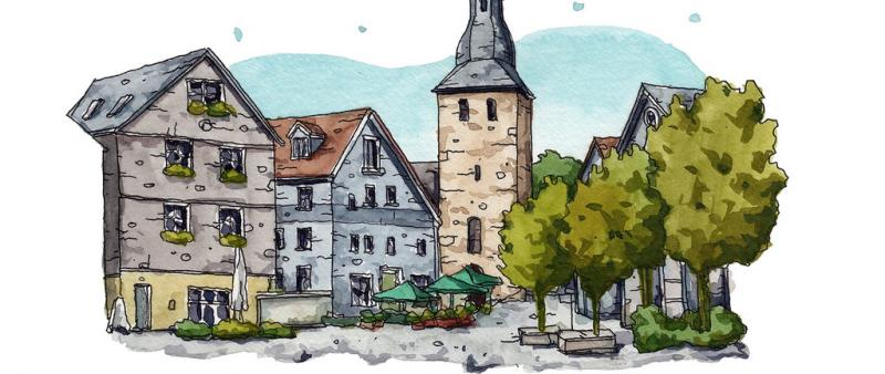 Urban Sketching: How to Make Places and Buildings Talk