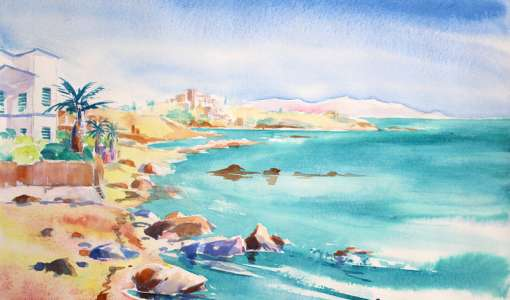 Painting Holiday in Sicily