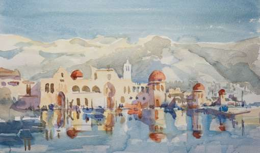 Embracing the Spirit of Kalymnos in Watercolour with Frank Walters