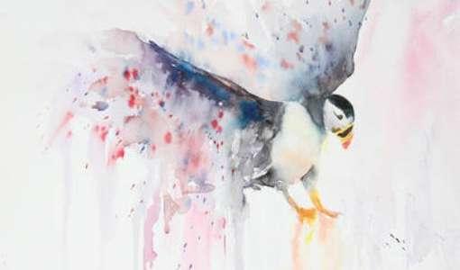 Sue Bradley's painting course