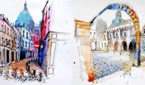 Online workshop: A quick sketch of Vienna (Warm up)