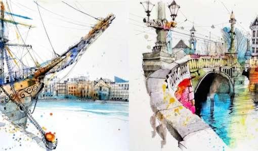 Online workshop: A quick sketch of Stockholm (Warm up)