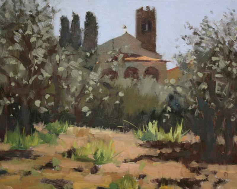 Inspired by Cortona - Plein Air Painting Course