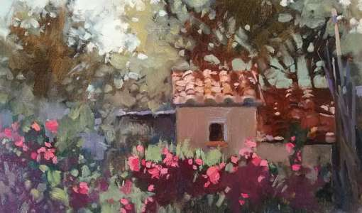 Painting Holiday in Tuscany