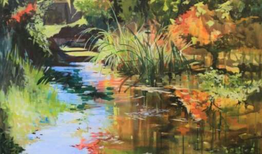 Watercolor & Acrylics Painting Course