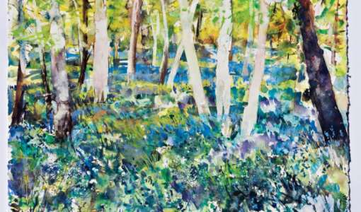Garden Impressions - Watercolour, Pastel and Acrylic ink Art Holiday