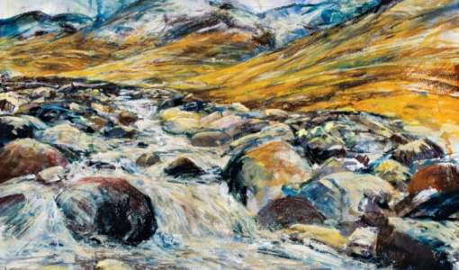 Mixed Media Painting Holiday in The Lake District