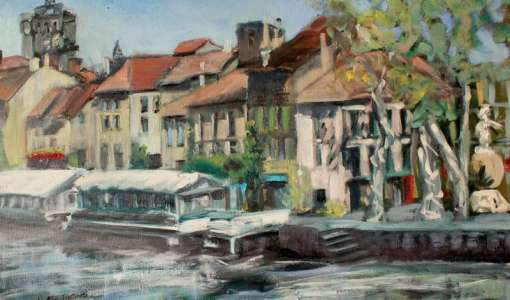 7 Day Plein Air Painting Holiday - Beaches, Boats and Rivers