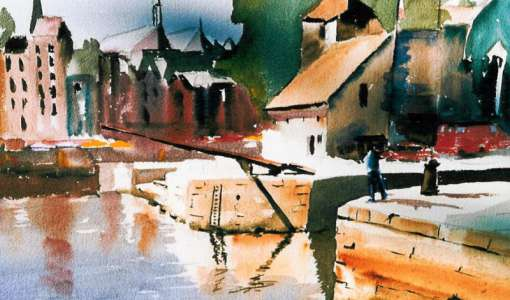 Painting Holiday with Marilyn Allis