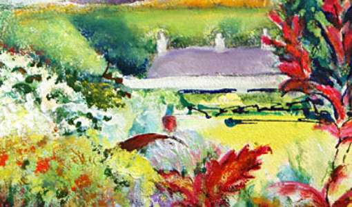 Early Summer Gardens and Scenery Painting Course