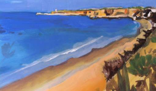 Sea View - Landscape Painting Holiday in Andalusia