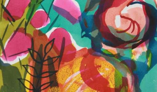 Watercolour & mixed media techniques with Tessa Pearson