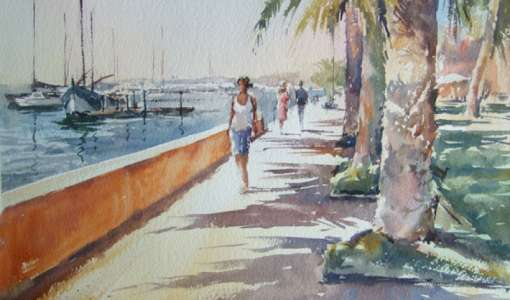 Watercolour with Paul Weaver
