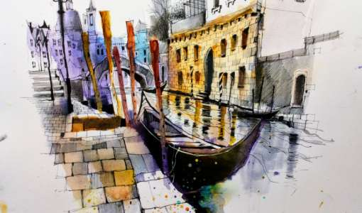 Urban Sketching in Venice