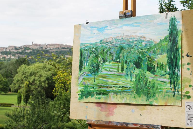Plein air: Landscape painting holiday in South-West France
