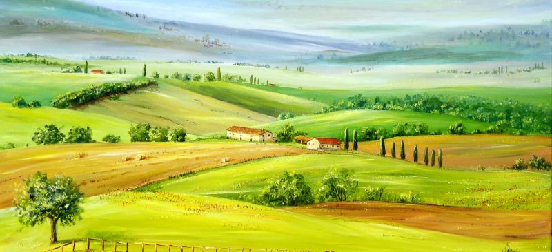 Plein air: Painting holiday in beautiful Tuscany