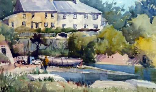 Watercolour Course in Tuscany