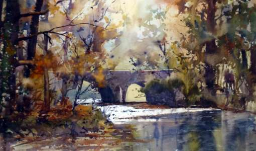 Watercolour with Graham Booth in Norfolk
