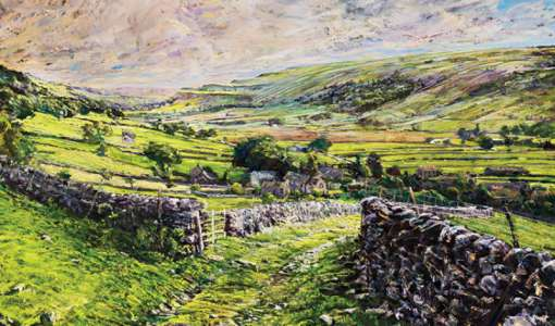 Malhamdale Expressive Pastel and Charcoal Art Holiday