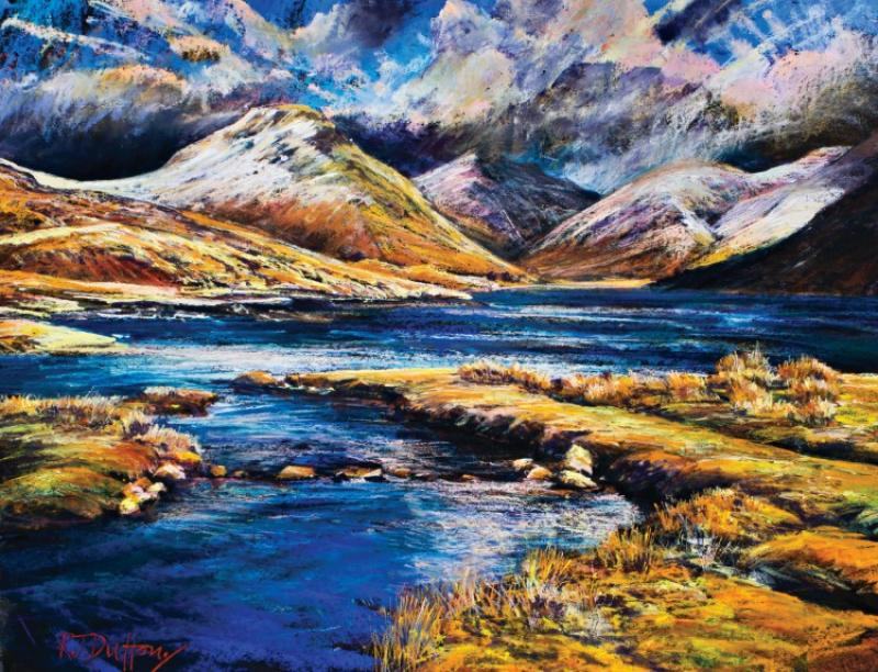 Expressive Landscape with Acrylic Mixed Media - Painting Course