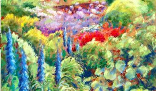 Midsummer Gardens and Landscapes painting break