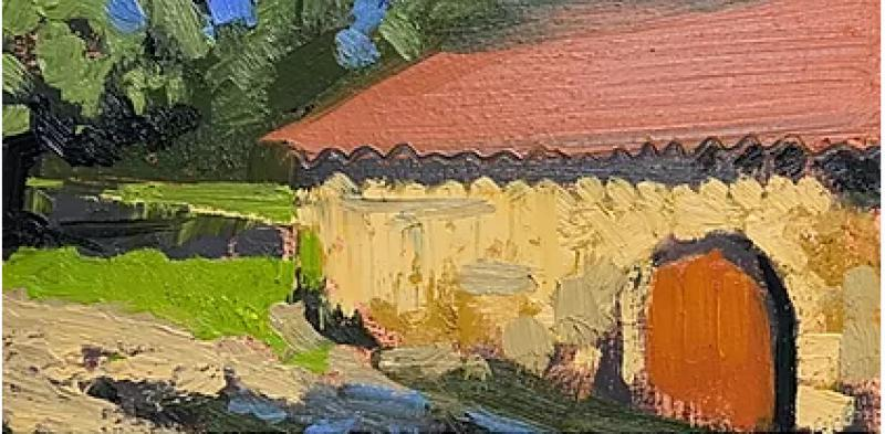 Painting Holidays in the Lot et Garonne France