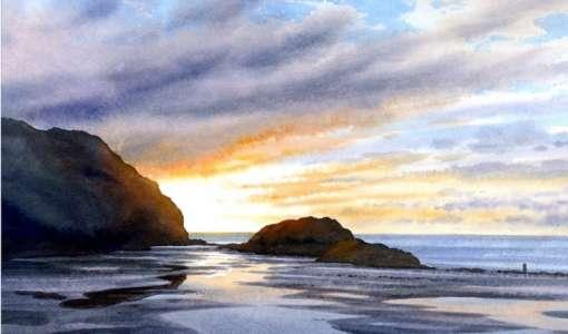 Paint Beautiful Coastal Scenes of Jersey