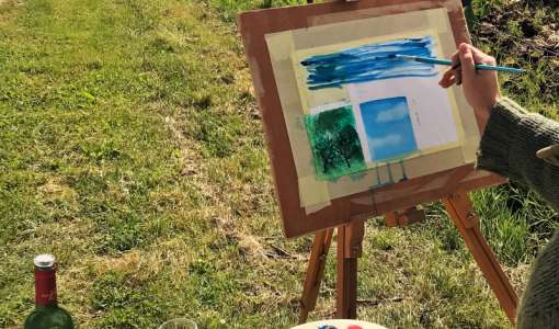 "Seven Day Art Course ""Nature and Spring"""
