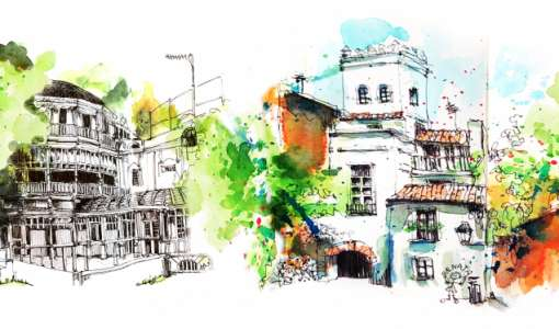 Urban Sketching in Seville